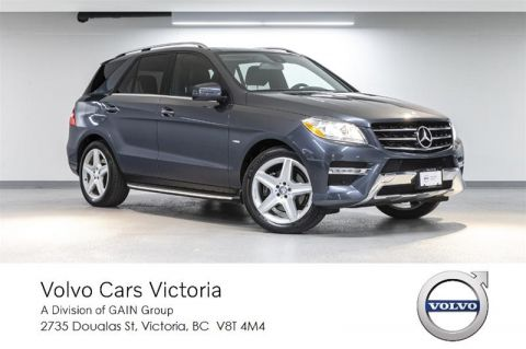 Pre-Owned 2012 Mercedes-Benz ML350 BlueTEC 4MATIC